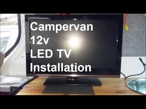 CamperVan LED TV With Digital Freeview