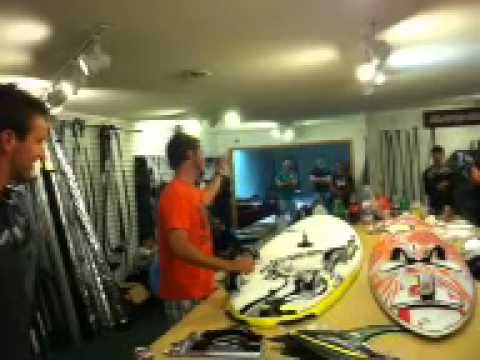 Wind-NC/Makani Fins Windsurfing Speed Clinic- Sail Tuning and Stance