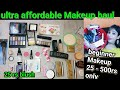 super affordable Makeup haul || beginners Makeup kit 25 - 500 rs only || shystyles