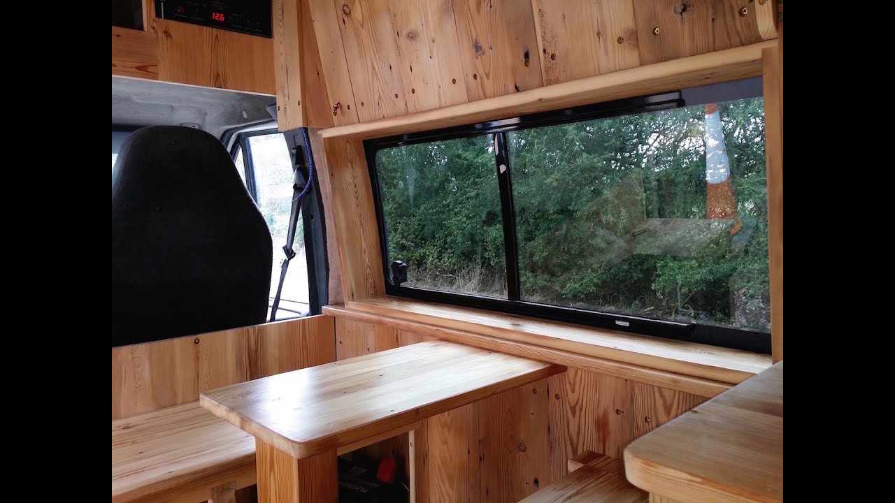 Best ECO Campervan Glampervan Conversion FORD TRANSIT VAN T350 LWB SOLD GBP8599