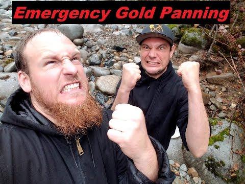 Emergency Gold Panning