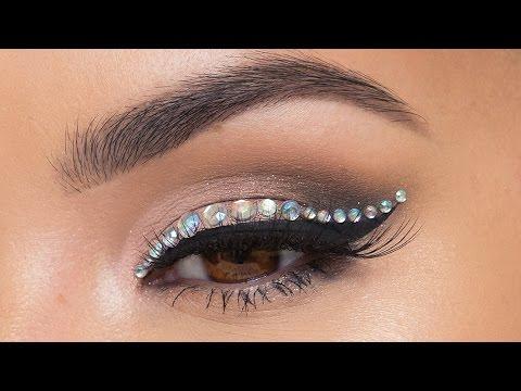 NYE Rhinestone Liner Tutorial | Maryam Maquillage