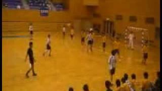 ハンドボール男子・九州学生リーグ秋季大会(福岡大学vs福岡国際大学)
