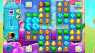 Candy Crush Soda Saga Level 344 No Booster 6 moves left