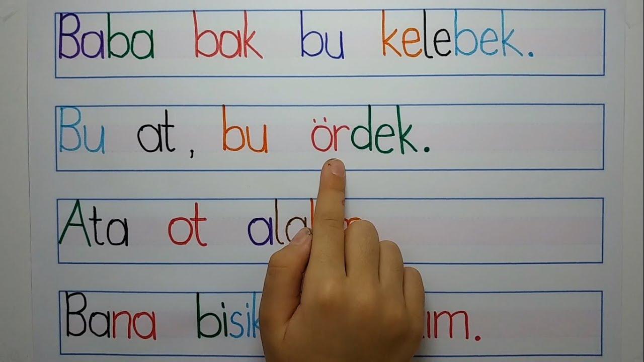 1.Sınıf Türkçe  İlk Okuma Yazma Kitabı Eyvah Eyvah Dinleme Metni