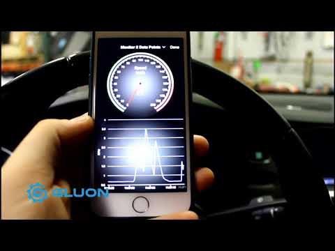 Gluon Bluetooth  and Wifi Gauge Display