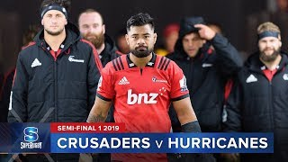 crusaders v hurricanes super rugby 2019 semi final 1 highlights