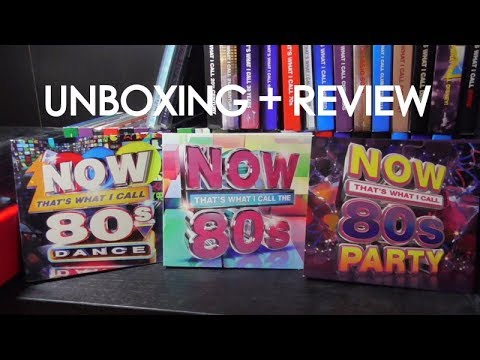 Now That's What I Call 80's/Dance/Party - Unboxing + Review