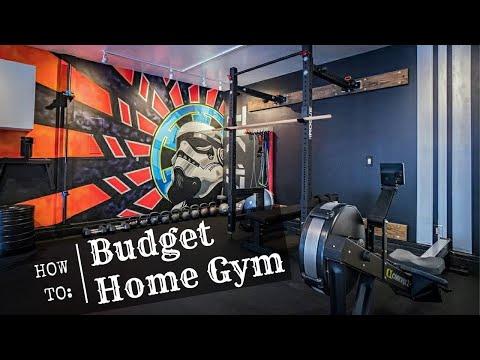 HOW to BUILD a BUDGET HOME GYM!