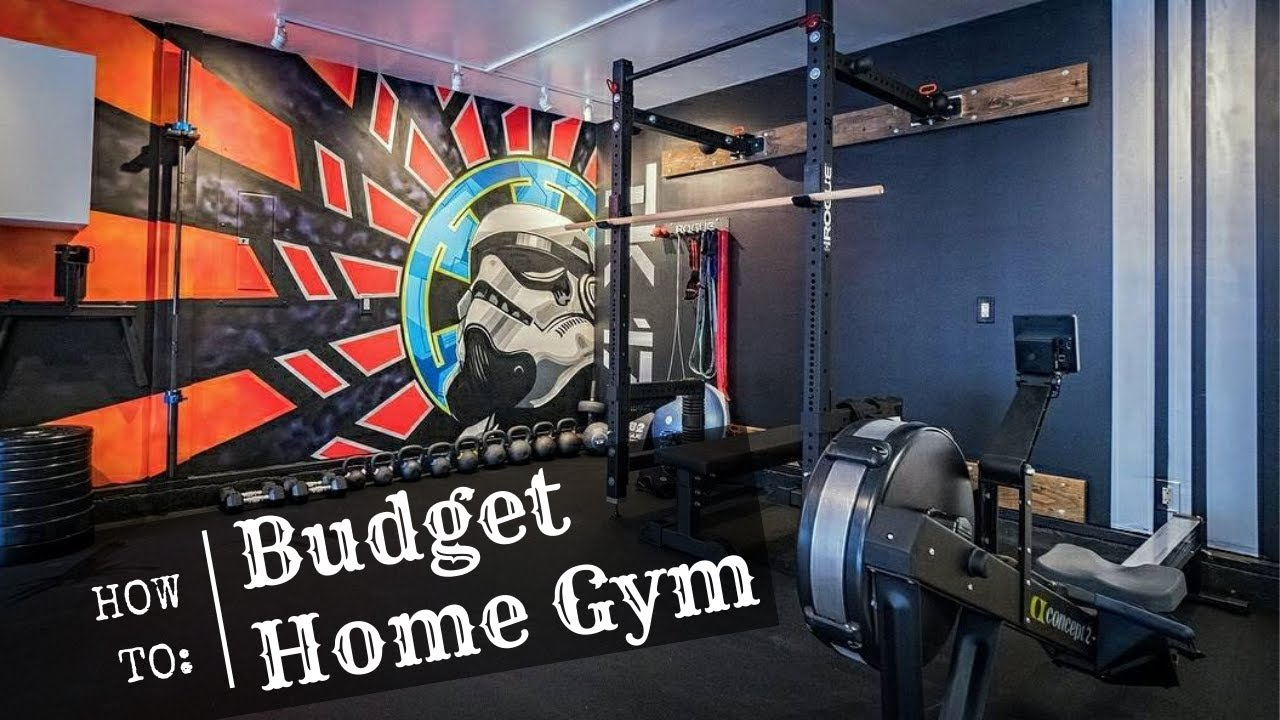 How to build a budget home gym youtube