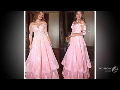 Платья на выпускной вечер с рукавом