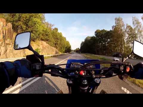 Motorbike ride from Stockholm to Gustavsberg