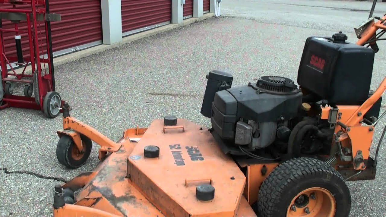 SCAG 52 Advantage Hydro Lawn Mower with 19hp Kawasaki Twin – Lawn Mower 19 Hp Kawasaki Engine Diagram