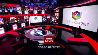 BBC News at Ten from Election Centre 2017 - Close