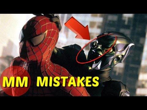 8 Hidden MISTAKES You Missed In Spiderman | Spiderman Movie MISTAKES