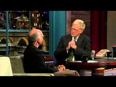 Larry David on the Late Show