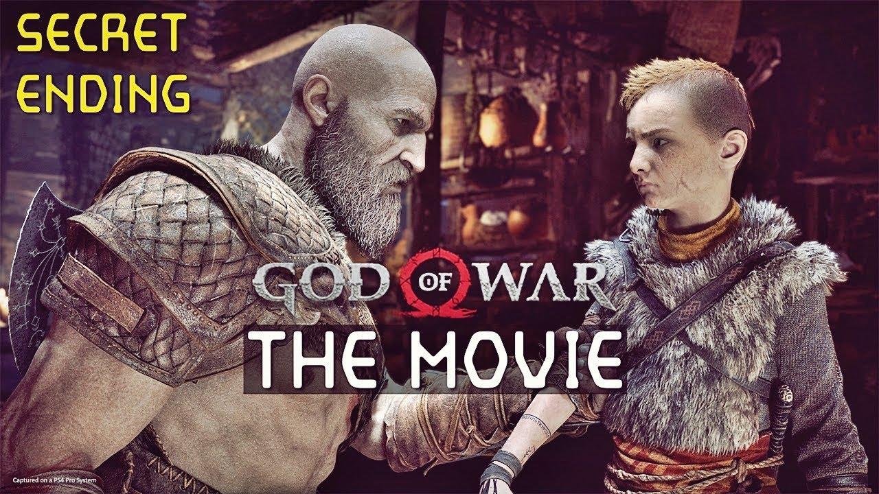 God Of War 4 : Full Movie 2018 (Cutscenes | Hidden Footage)