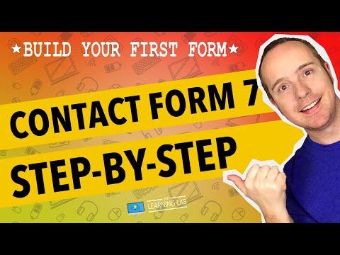 Creating A Contact Form Using Contact Form 7 WordPress Plugin | Contact Form 7 Tuts Part 1