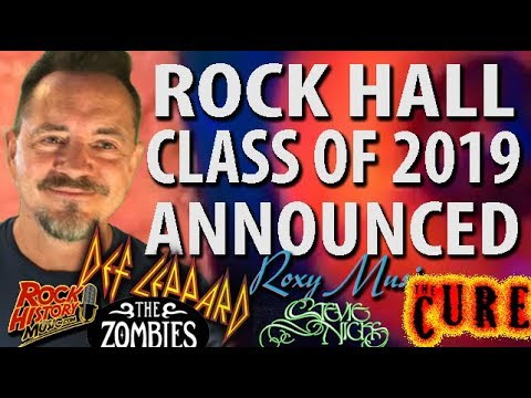 Def Leppard, Radiohead, Stevie Nicks, Zombies, Roxy Music, The Cure In Rock Hall Class Of 2019 Mp3