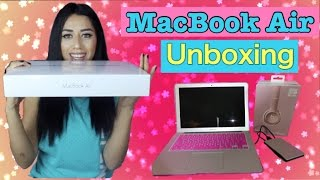 macbook air unboxing + beats|case|external drive(Hey everyone! In this video i'll be unboxing my MACBOOK AIR!!!!! I'm soooooo freakin happy!!! Huge THANKS to my little brother for letting me borrow the money ..., 2016-09-01T06:48:38.000Z)