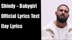 Shindy - Babygirl [Text] (Official Lyrics Text)