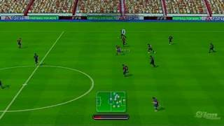 FIFA Soccer 10 Nintendo Wii Gameplay - Barcelona vs. Arsenal
