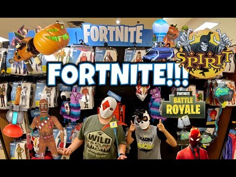 Fortnite 2019 Costumes & Props @ Spirit Halloween!!! | StewarTV