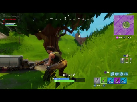 Top tier Fortnite player in action
