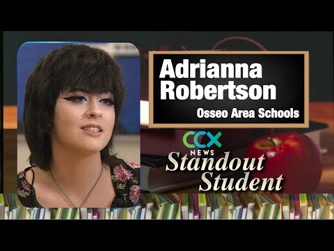 Standout Student: Osseo Area Learning Center's Adrianna Robertson