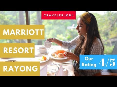 Marriott Resort and Spa Review Tour | Thailand Travel | Rayong | 4K Video