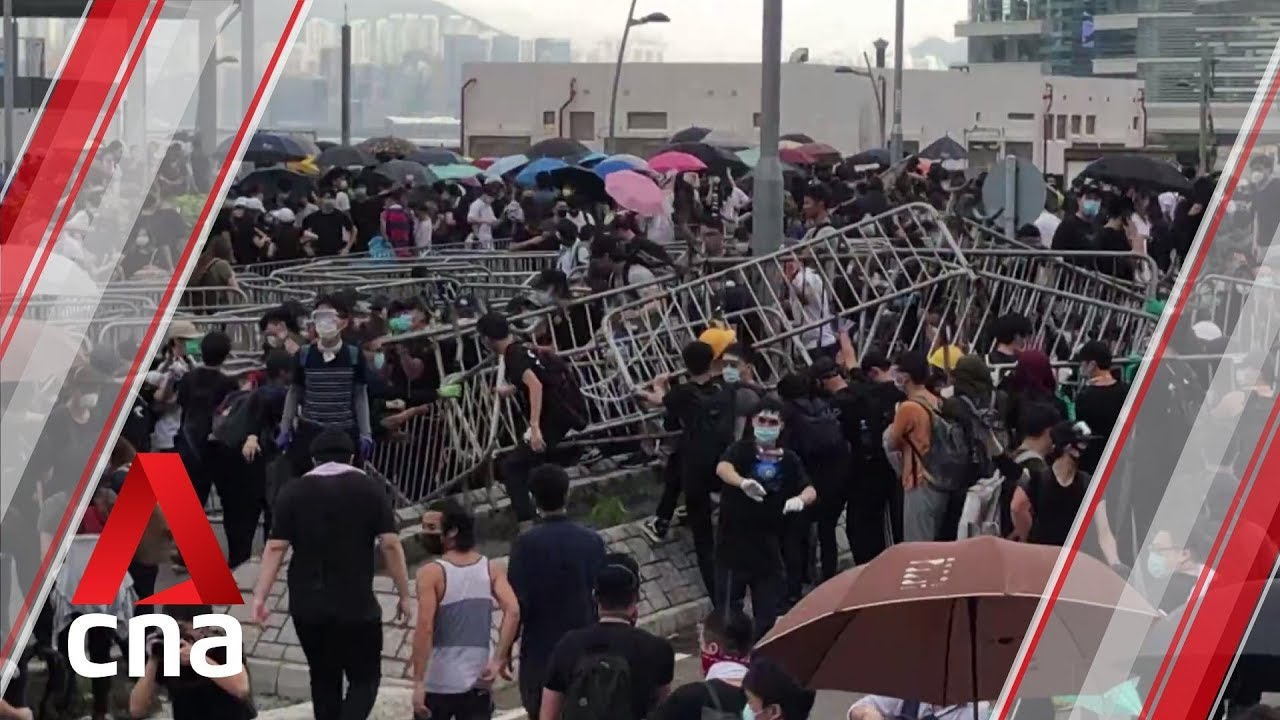Hong Kong protests: What unfolded outside parliament on Jun 12