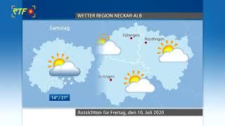 RTF.1-Wetter 09.07.2020
