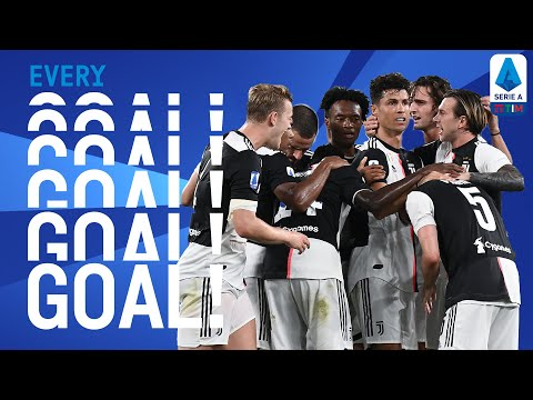 CR7 Seals Juve's Title Win and Immobile Takes His League Tally to 34! | EVERY Goal R36 | Serie A TIM