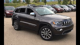2018 Jeep Grand Cherokee Limited | Rear Parking Sensors | Edmonton AB | SCD3406 | Crosstown Chrysler