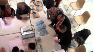 Dépouillement des bulletins de votes à Saint Jean Lasseille