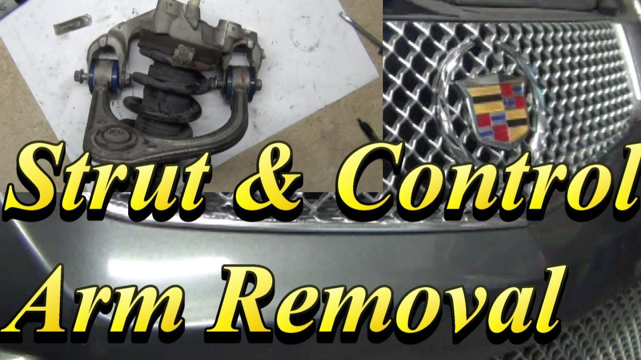 Cadillac CTS V Strut & Control Arm Removal (copyright compliant re upload)