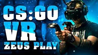 ZEUS PLAYS CS:GO VR (VIRTUAL REALITY)