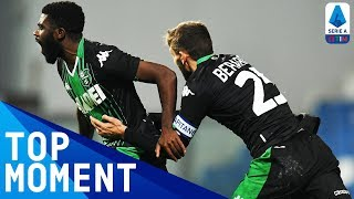 Boga Scores a 30-Yard Wonder Goal in Comeback Win! | Sassuolo 2-1 Torino | Top Moment | Serie A TIM