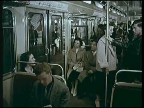 Paris et son nouveau métro, (fin des années 50)