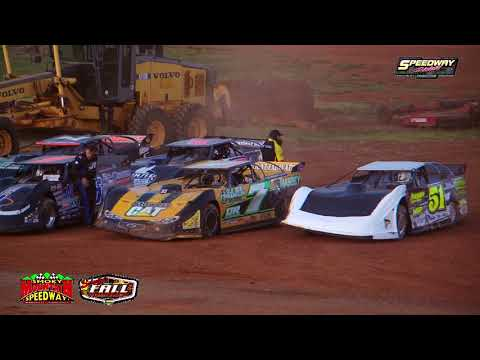 Super Late Models Qualifying follow us on facebook https://www.facebook.com/pages/Speedway-Videos/208823702549862?ref=hl All graphics ,video, ... - dirt track racing video image