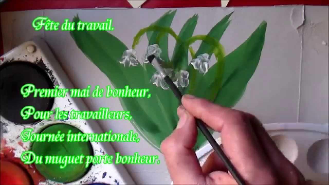 Extrêmement Joli muguet du premier Mai de bonheur : Poème 1er Mai - YouTube QF09