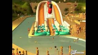 RollerCoaster Tycoon 3: Soaked! PC Games Gameplay