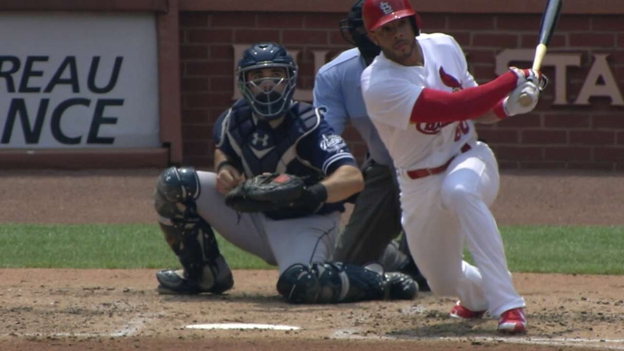 Pham homers in return to majors as Cardinals defeat Braves 10-0