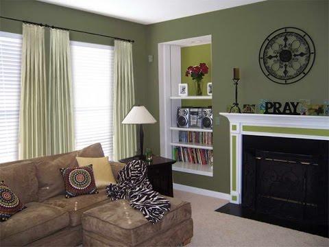 Home Decor Ideas Green Walls