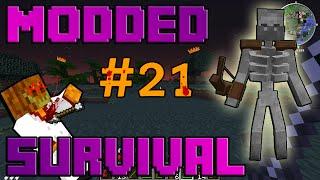 MUTANTEN SKELETT! | #21 | Minecraft Modded Survival [Deutsch]