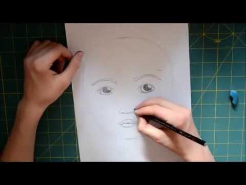 Portrait Zeichnen Lernen Anleitung Youtube