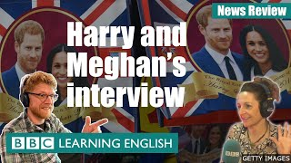 Harry and Meghan interview: BBC News Review