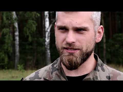 ppor. Suski trening na poligonie i zapowiedź walki