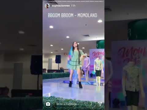 Sophia Zionne BBoom BBoom Challenge!
