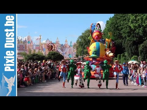 🎭 Full Disney Stars On Parade At Disneyland Paris June 2019